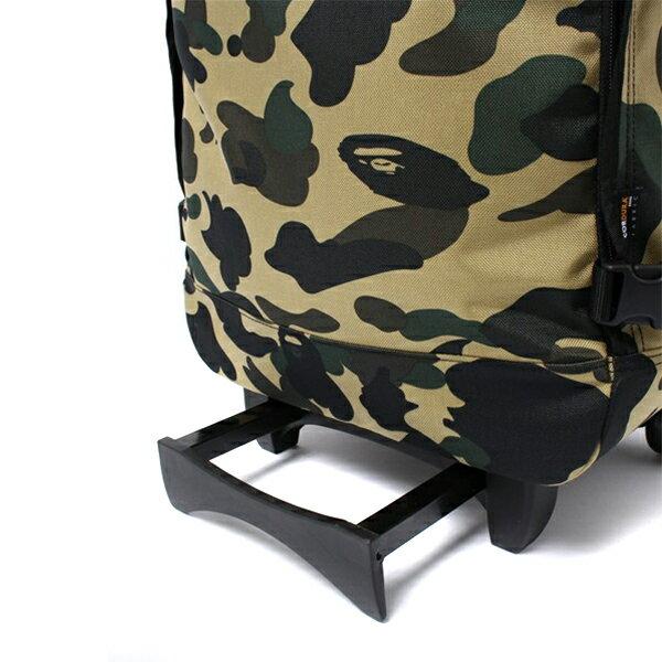 【EST O】A Bathing Ape 1St Camo Travel Luggage (Cordura) 登機箱 卡其 G0908 4