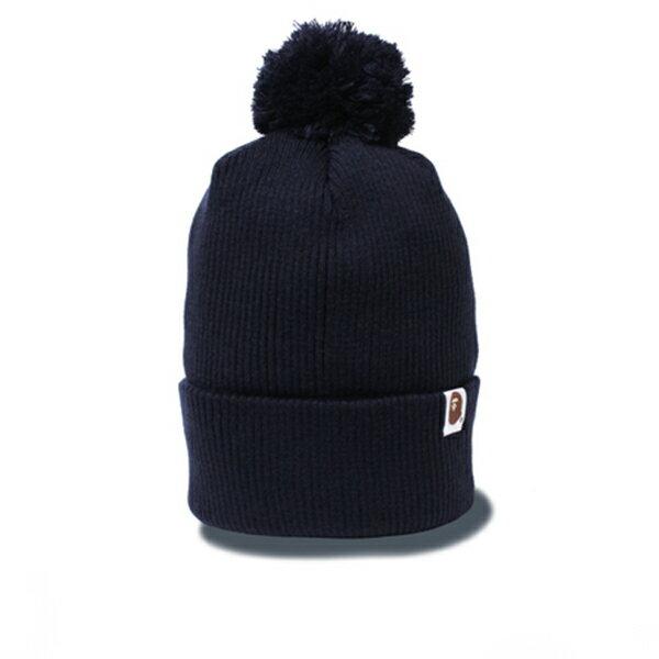 【EST O】A BATHING APE KNIT CAP 毛帽 藍 G1004 - 限時優惠好康折扣