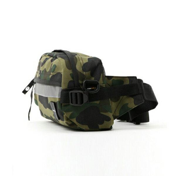 【EST O】A Bathing Ape 1St Camo Reflective Waist Bag M (Cordura) 腰包 綠 G0908 1