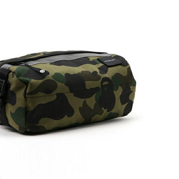 【EST O】A Bathing Ape 1St Camo Reflective Waist Bag M (Cordura) 腰包 綠 G0908 3