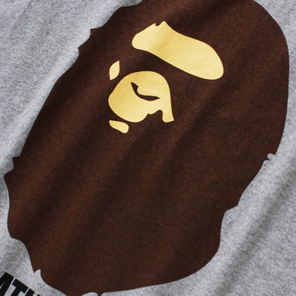 【EST O】A Bathing Ape Pigment By Bathing 短 Tee 灰 G0908 1