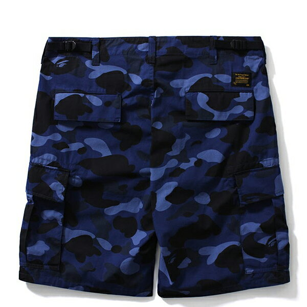 【EST O】A BATHING APE COLOR CAMO 6POCKET SHORTS 短褲 藍迷彩 G0908 1