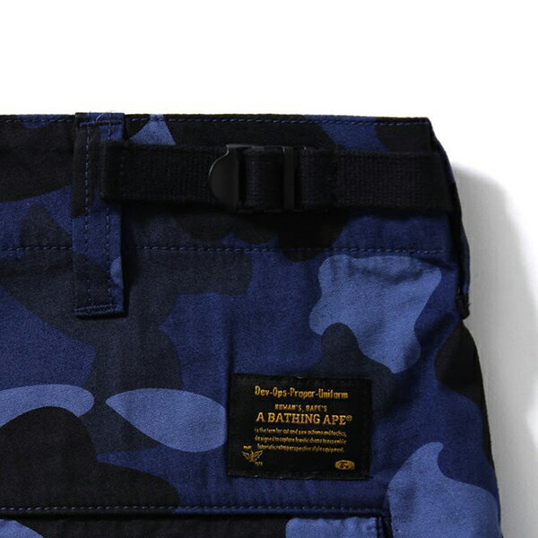 【EST O】A BATHING APE COLOR CAMO 6POCKET SHORTS 短褲 藍迷彩 G0908 3
