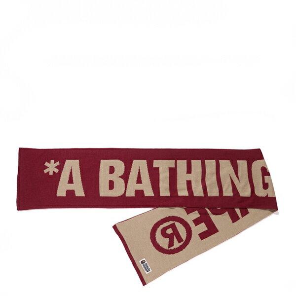 【EST O】A Bathing Ape Scarf 圍巾 酒紅 G1004 0