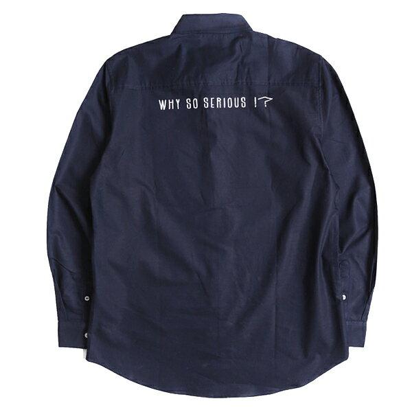 【EST O】MADNESS WHY SO SERIOUSOXFORD SHIRT 襯衫 藍 G1004 1