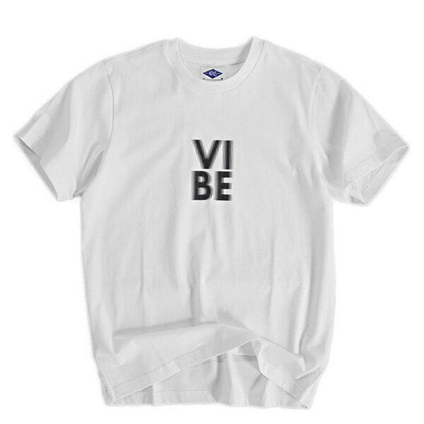 【EST O】MADNESS VIBE PRINT 短TEE 白 G0720 0