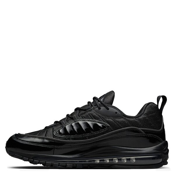 【EST O】Nike Air Max 98 X Supreme 844694-001 聯名款 氣墊 慢跑鞋 男女鞋 黑 G0615 0