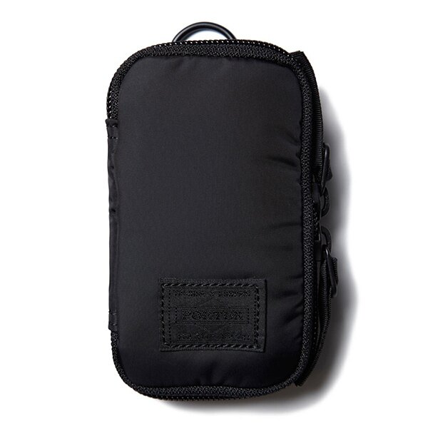 【EST O】Head Porter Black Beauty Zip Key Case 鑰匙包 G0722 0