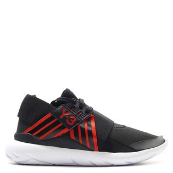 【EST O】ADIDAS Y-3 WMNS QASA ELLE LACE AQ5453 武士 忍者鞋 女鞋  黑紅 G0714