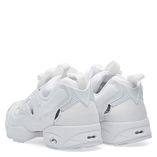 【EST O】REEBOK INSTA PUMP FURY OG EMPTY CANVAS AR0418 夜光 男女鞋 白 G0615 3
