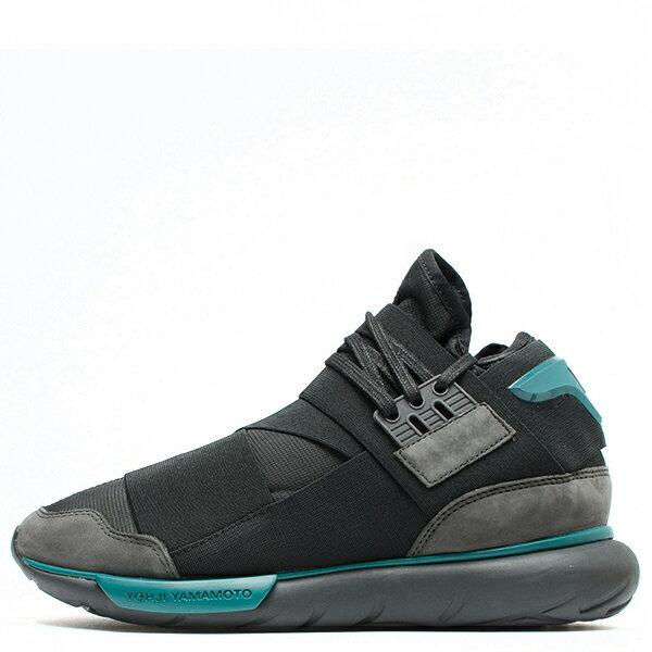 【EST O】Adidas Y-3 Qasa High Bb4735 高筒 忍者鞋 男女鞋 黑綠 G0905 0