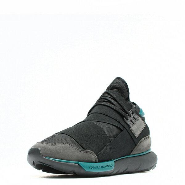 【EST O】Adidas Y-3 Qasa High Bb4735 高筒 忍者鞋 男女鞋 黑綠 G0905 1