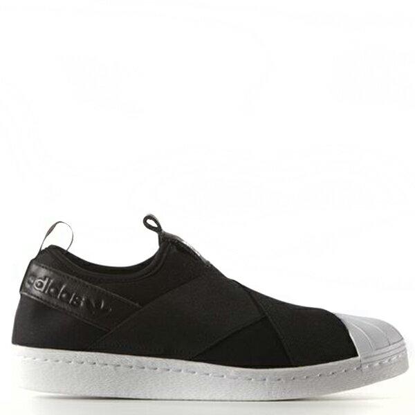 【EST O】ADIDAS ORIGINALS SUPERSTAR SLIP ON S81337 繃帶鞋 女鞋 黑白 G0905