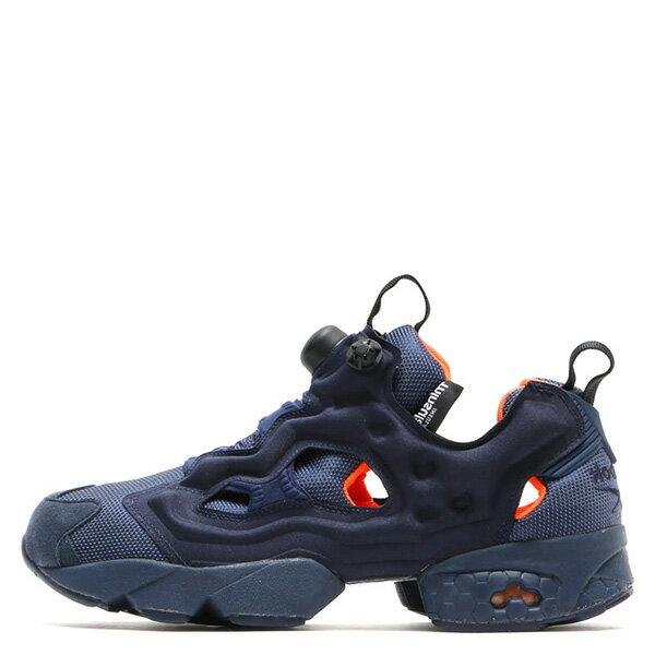 【EST O】Reebok Insta Pump Fury Tech V63499 防彈布 慢跑鞋 男女鞋 深藍 G0223 0