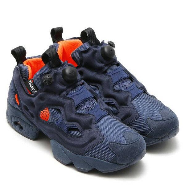 【EST O】Reebok Insta Pump Fury Tech V63499 防彈布 慢跑鞋 男女鞋 深藍 G0223 1
