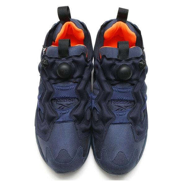 【EST O】Reebok Insta Pump Fury Tech V63499 防彈布 慢跑鞋 男女鞋 深藍 G0223 2
