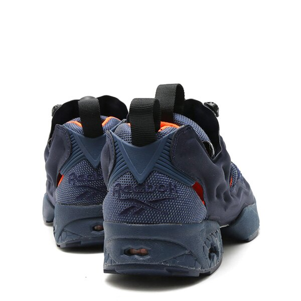 【EST O】Reebok Insta Pump Fury Tech V63499 防彈布 慢跑鞋 男女鞋 深藍 G0223 3