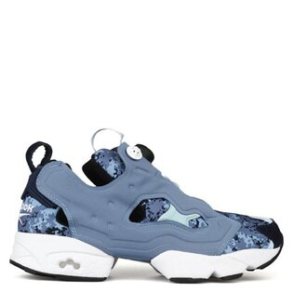 【EST O】REEBOK INSTA PUMP FURY CAMO V69974 慢跑鞋 男女鞋 迷彩 藍 G0615