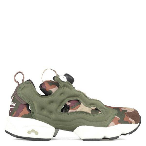 【EST O】REEBOK INSTA PUMP FURY CAMO V69975 慢跑鞋 男女鞋 迷彩 綠 G0615 0