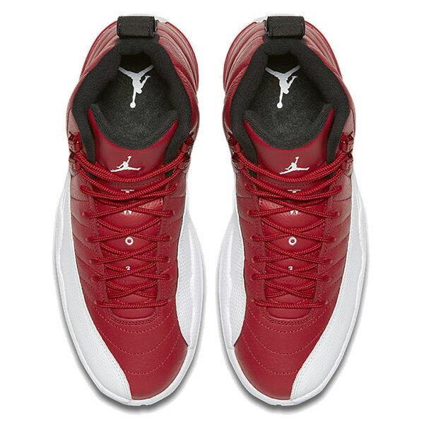 【EST】Nike Air Jordan 12 Retro Gym Red 130690-600 復刻 籃球鞋 男鞋 白紅 [NI-4415-069] G0707 2