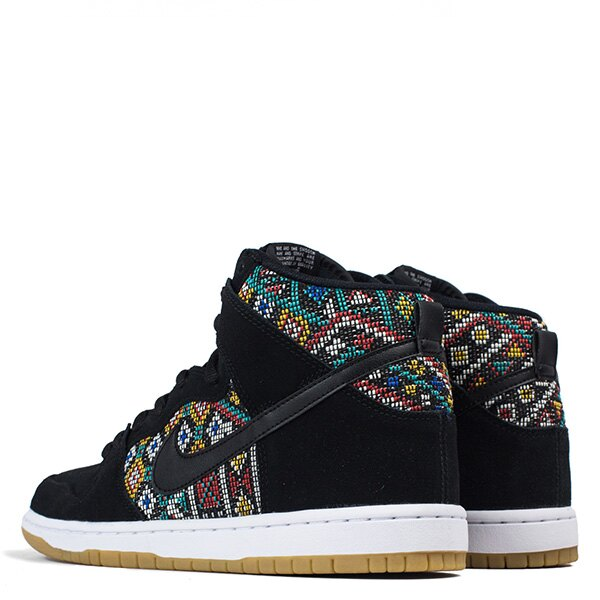 【EST S】Nike Dunk High Premium Sb 313171 030 黑民俗圖騰麂皮滑板鞋 男鞋 G1012 2