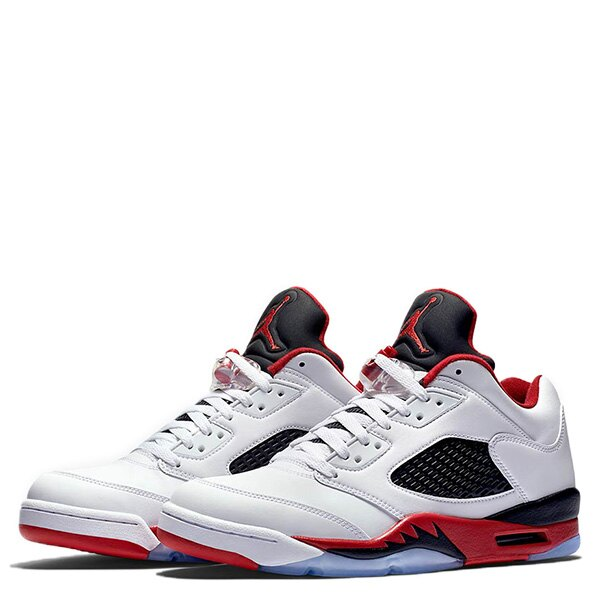 【EST S】Nike Air Jordan 5 Bg Fire Red 314338-101 大童鞋 女鞋 白 G0311 1
