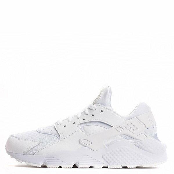 【EST S】NIKE HUARACHE RUN DAD-318429-111 白武士 皮革 網布 慢跑鞋 G1011 0