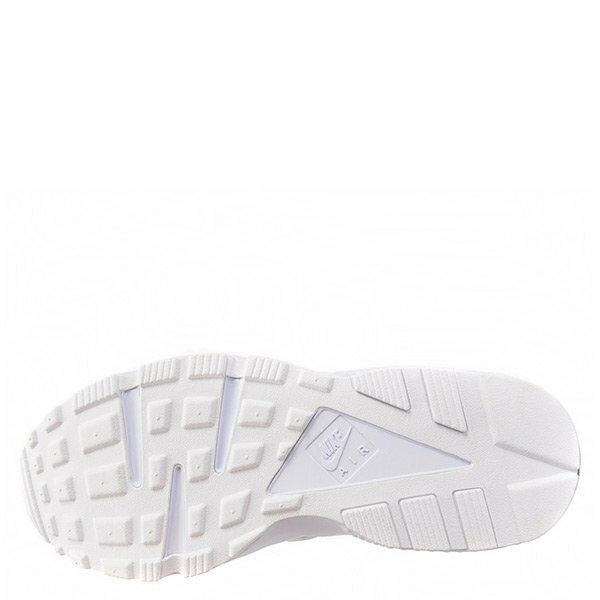 【EST S】NIKE HUARACHE RUN DAD-318429-111 白武士 皮革 網布 慢跑鞋 G1011 2