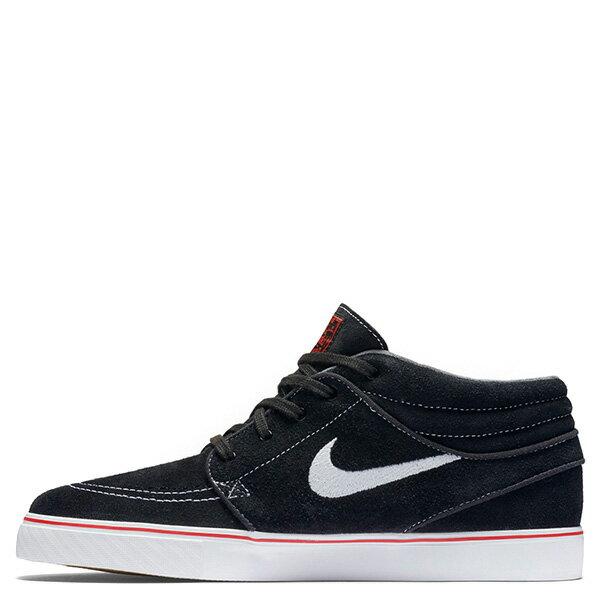【EST S】NIKE ZOOM STEFAN JANOSKI 443095-017 中筒 紅線 休閒鞋 男女鞋 黑 G1011 0