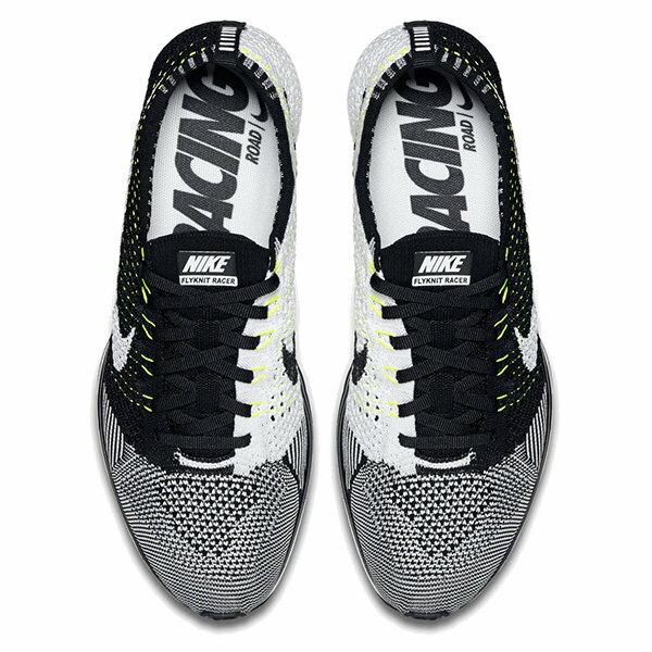 【EST S】NIKE FLYKNIT RACER 526628-011 陰陽 編織 男女鞋 G1011 2