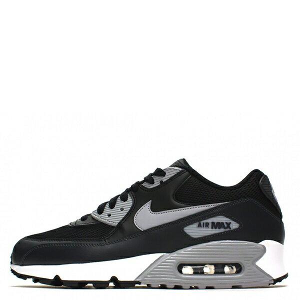 【EST S】NIKE AIR MAX 90ESSENTIAL 2016 537384-056 黑灰皮革氣墊慢跑鞋 男鞋 G1012 0