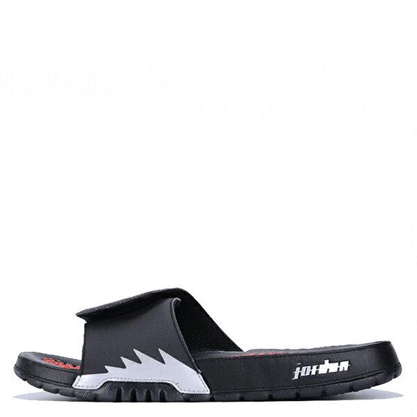 【EST S】NIKE JORDAN HYDRO V RETRO AJ5 555501-012 黑紅銀運動拖鞋 男鞋 G1012 0