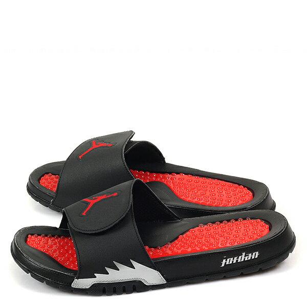 【EST S】NIKE JORDAN HYDRO V RETRO AJ5 555501-012 黑紅銀運動拖鞋 男鞋 G1012 1