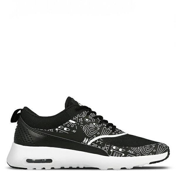 【EST S】NIKE AIR MAX THEA PRINT 599408-011 黑白氣墊塗鴉 女鞋 G1012 1