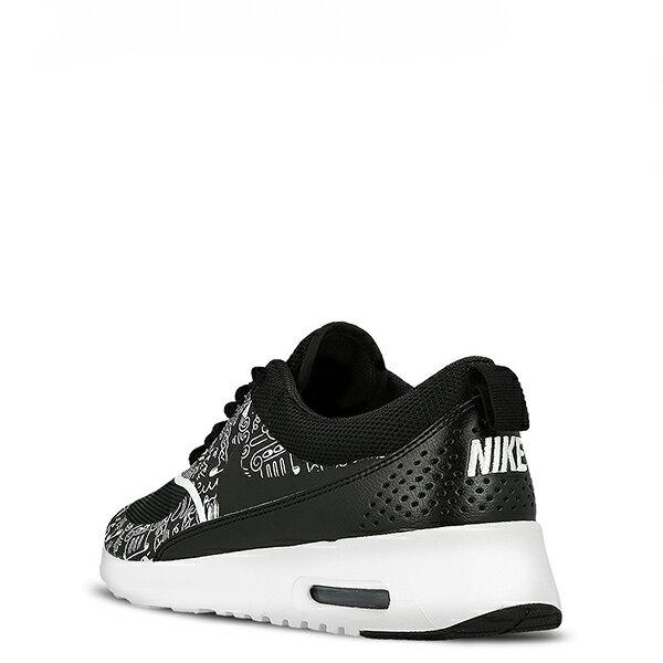 【EST S】NIKE AIR MAX THEA PRINT 599408-011 黑白氣墊塗鴉 女鞋 G1012 2