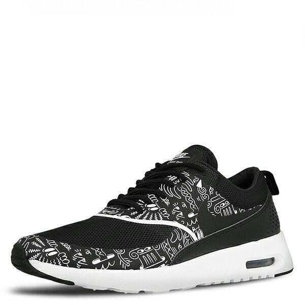 【EST S】NIKE AIR MAX THEA PRINT 599408-011 黑白氣墊塗鴉 女鞋 G1012 3