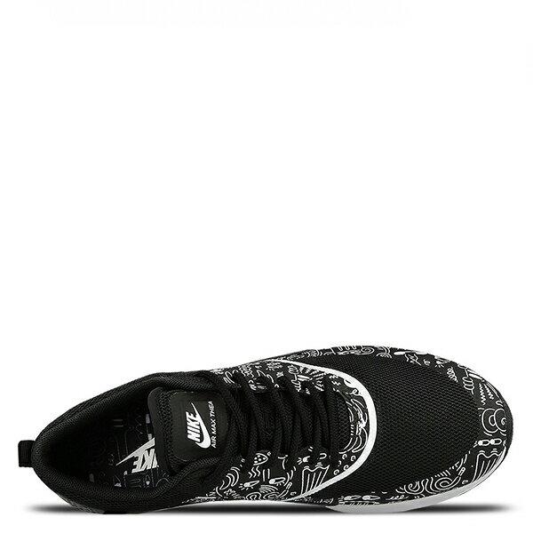 【EST S】NIKE AIR MAX THEA PRINT 599408-011 黑白氣墊塗鴉 女鞋 G1012 4