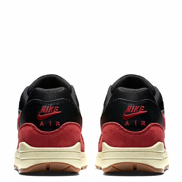 【EST S】NIKE WMNS AIR MAX 1 ESSENTIAL 599820-018 麂皮 慢跑鞋 女鞋 黑紅 G1011 3