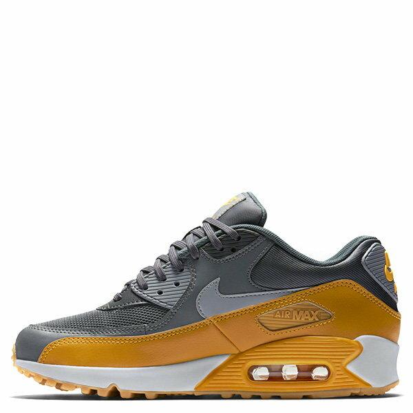 【EST S】NIKE WMNS AIR MAX 90 ESSENTIAL 616730-027 慢跑鞋 女鞋 灰黃 G1011