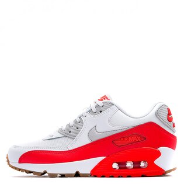 【EST S】NIKE AIR MAX 90 ESSENTIAL 616730-113 慢跑鞋 白橘 女鞋 G1012