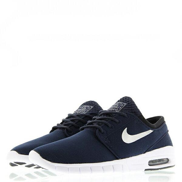 【EST S】Nike Stefan Janoski Max 631303-400 白深藍氣墊編織 男鞋 G1012 1