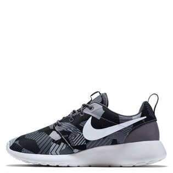 【EST S】NIKE ROSHE ONE PRINT 655206-020 灰迷彩灰黑細繩點點鞋帶 男鞋 G1012