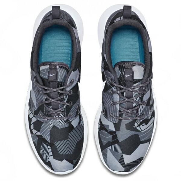 【EST S】NIKE ROSHE ONE PRINT 655206-020 灰迷彩灰黑細繩點點鞋帶 男鞋 G1012 2