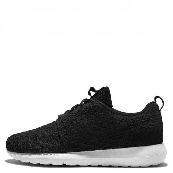 【EST S】NIKE ROSHE FLYKNIT NM 677243-011 黑編織慢跑刺繡 男鞋 G1012