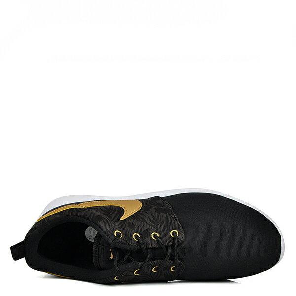 【EST S】Nike Rosherun One Gs Print 677782-010 白底黑金慢跑鞋 大童鞋 G1012 4