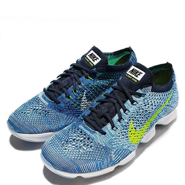 【EST S】Nike Flyknit Zoom Agility 698616-404 藍編織輕量化慢跑鞋 女鞋 G1012 1