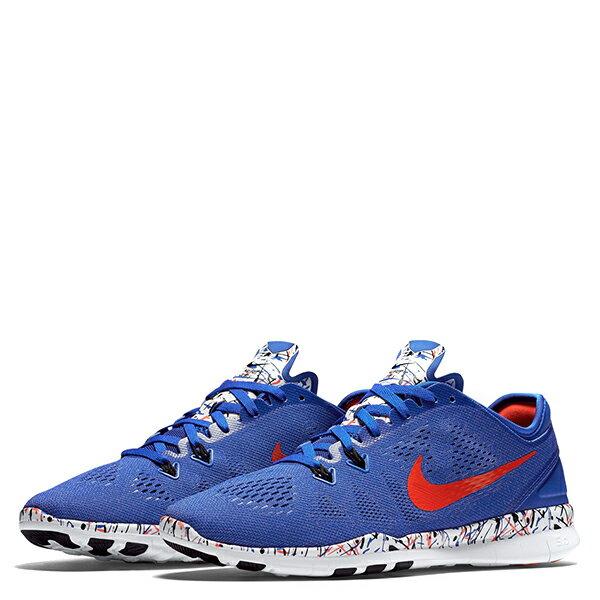 【EST S】NIKE FREE 5.0 TR FIT 5 PRT 704695-405 赤足透氣藍 女鞋 G1012 1