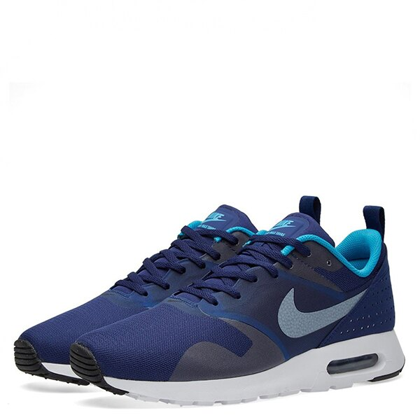 【EST S】NIKE AIR MAX TAVAS 705149-405 藍白銀網布慢跑鞋 男鞋 G1012 1