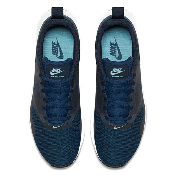【EST S】NIKE AIR MAX TAVAS 705149-406 深藍白網布慢跑鞋 男鞋 G1012 2