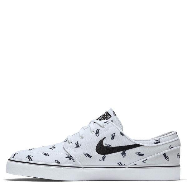 【EST S】NIKE ZOOM STEFAN JANOSKI CNVS PRM 705190-101 休閒 滑板鞋 男鞋 白 G1011 0